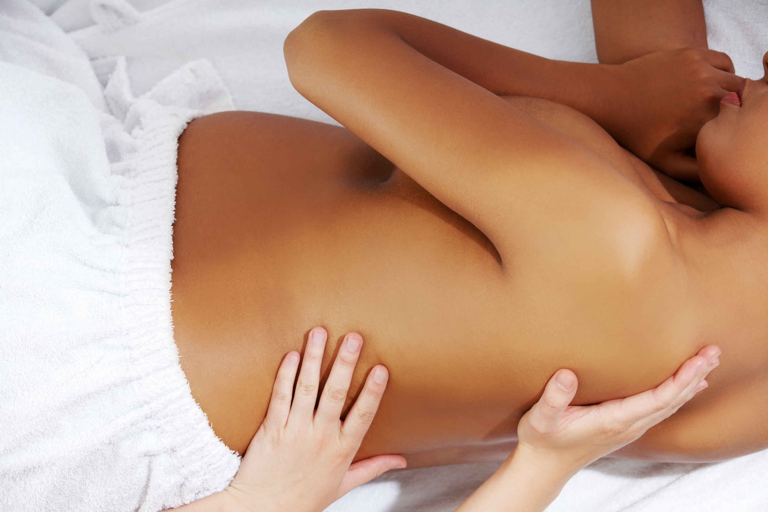 Massagem grávida